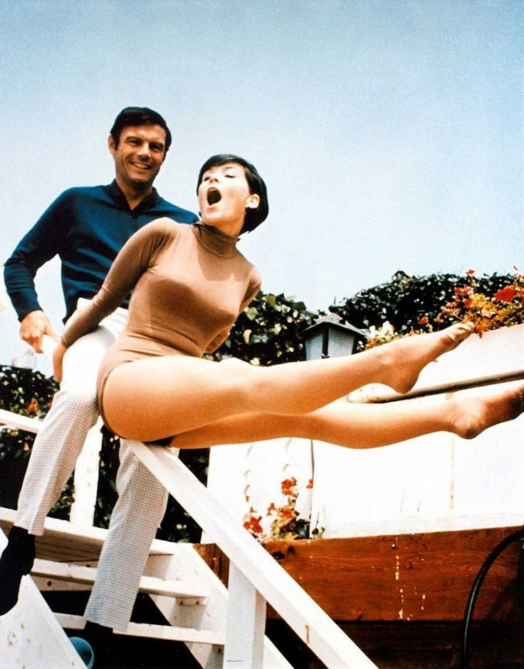 Adam West and Yvonne Craig