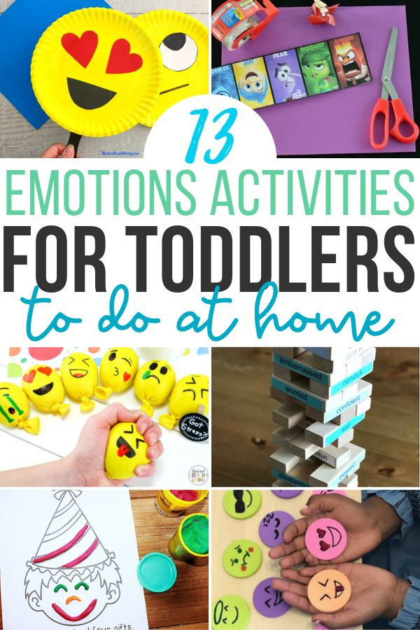 13 Games & Emotions Activities For Toddlers & Preschoolers ...
