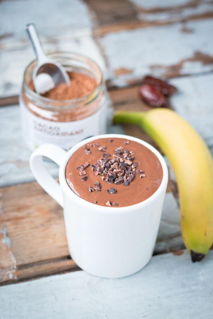 chocolade eiwit smoothie
