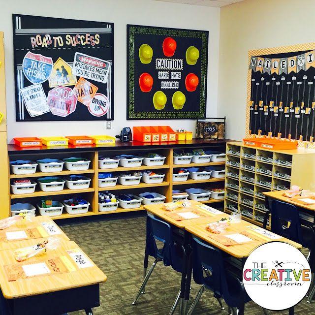 Construction Theme Classroom Decor Bulletin Boards