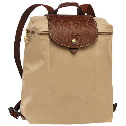 Backpack - Le Pliage - Handbags - Longchamp - Beige - Longchamp United-States