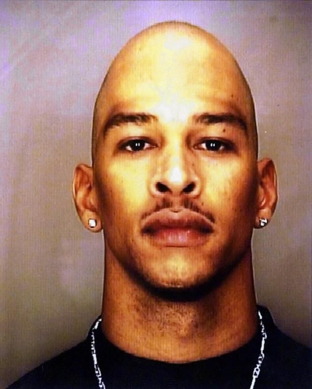 Rae Carruth, a promising NFL player with the Charlotte Panthers, was imprisoned for hiring a hitman to murder his 8 month pregnant girlfriend, Cherica Adams. Adams died several weeks later, but her son, Chancellor, was born with physical difficulties