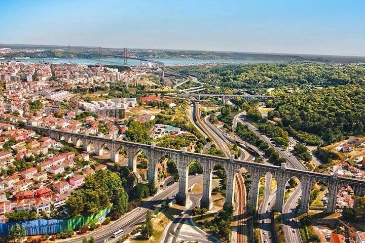 Aqueduct, Lisbon, Portugal