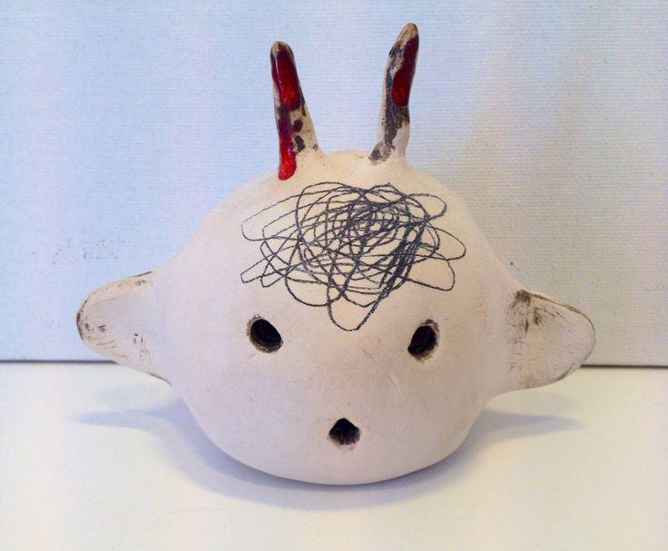 Cute head - porcelain