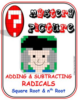 "✐ This product is a NO PREP- SELF CHECKING activity that engage students in ""Adding and Subtracting Square Roots and nth Root"".  Students need to feel comfortable with: ☑ Definition of Like Radicals ☑ Identify the Prime Factors of any base (numerical) ☑ The rule of the index of the radical"