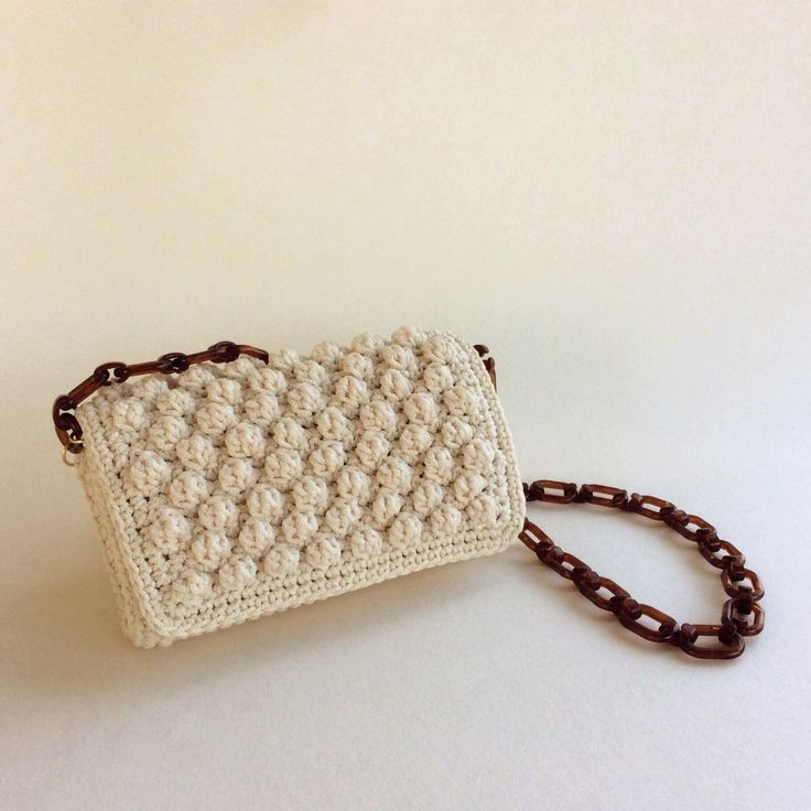 Crochet Bag // Cream