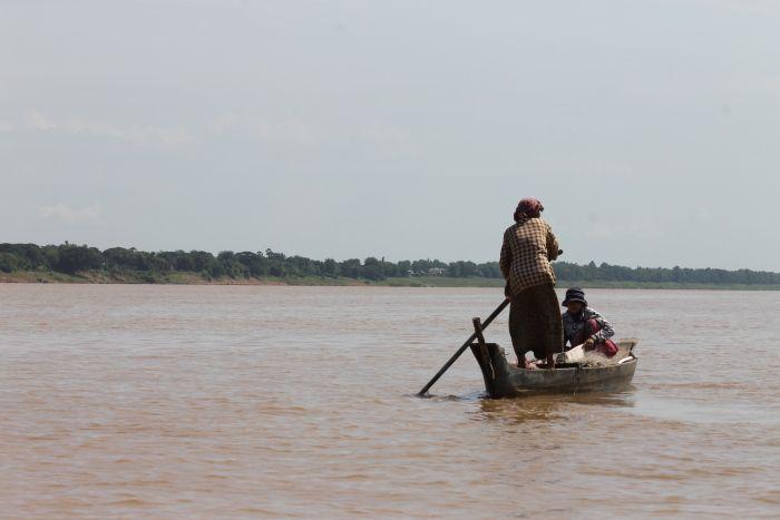 Balade sur le Mekong à Kampong Cham - www.worldwildbrice.net