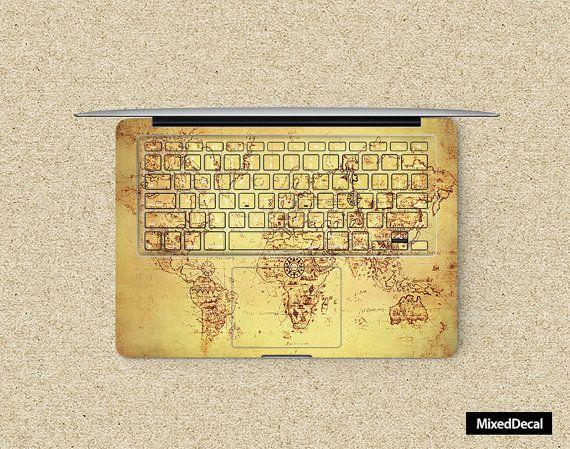 clavier autocollant autocollant macbook pro clavier par MixedDecal