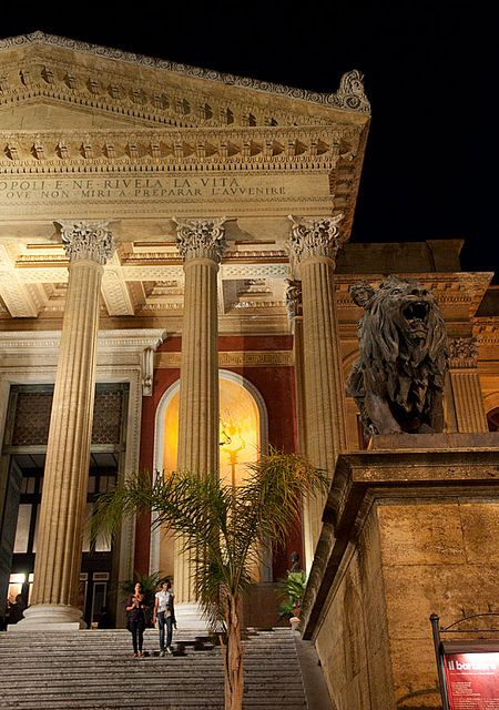 Teatro Massimo steps, Palermo,Italy Our hotel was just opposite these steps - so central to everything. #palermo #sicilia #sicily