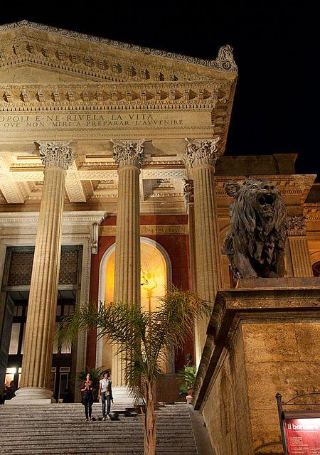 Teatro Massimo Steps...Palermo, Sicily