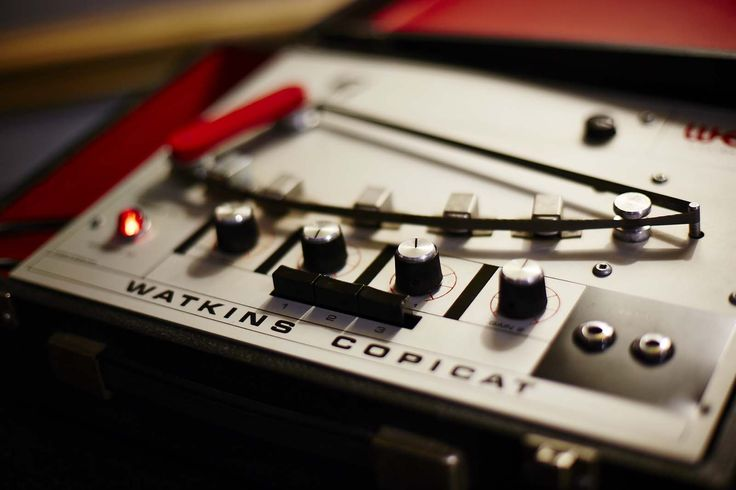 Analogue tape delay at Artillery Studios