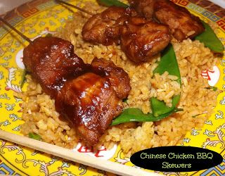 FoodThoughtsOfaChefWannabe: I feel like chicken tonight.....Chinese BBQ Chicken Skewers