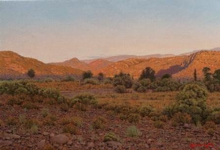 Baboon rock Oil on canvas  by Robert Koch