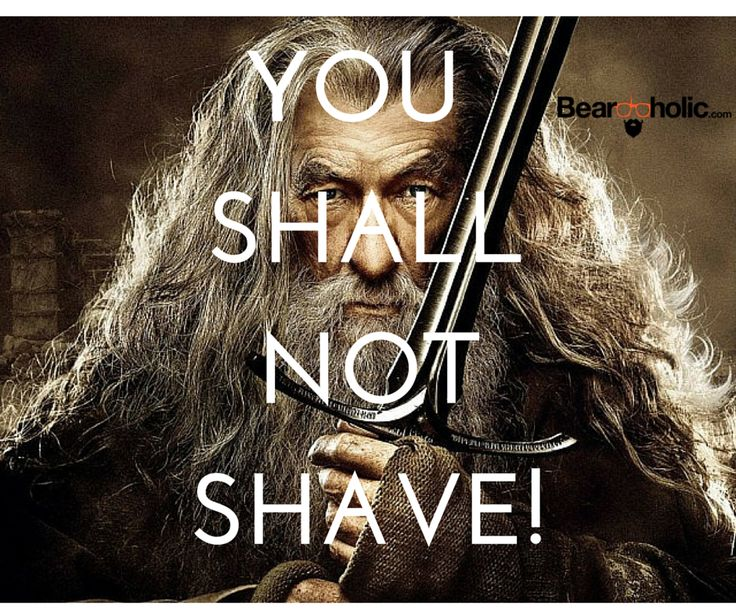 You Shall Not Shave!