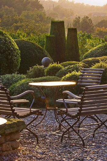 : Idea, Outdoor Living, Patio, Gardens, Outdoor Spaces, Garden, Provence France