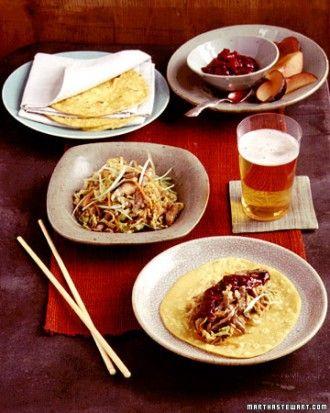"""See the """"Moo Shu Pork Menu"""" in our Fall Menus gallery"""