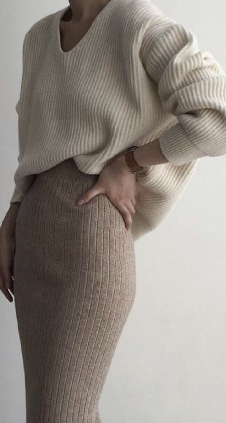 Minimalist winter nudes whites and neutral