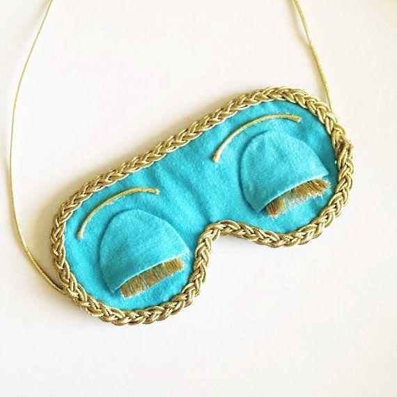 Breakfast at Tiffany's Eye Mask by JenniferessHandmade on Etsy
