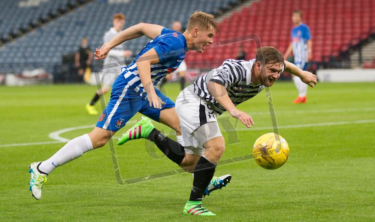 Queen's Park's Aiden Malone in action during the IRN-BRU Cup game between Queen's Park and Kilmarnock Colts.