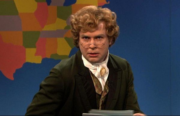 SNL Weekend Update: Jebidiah Atkinson Does anyone know who wrote this?