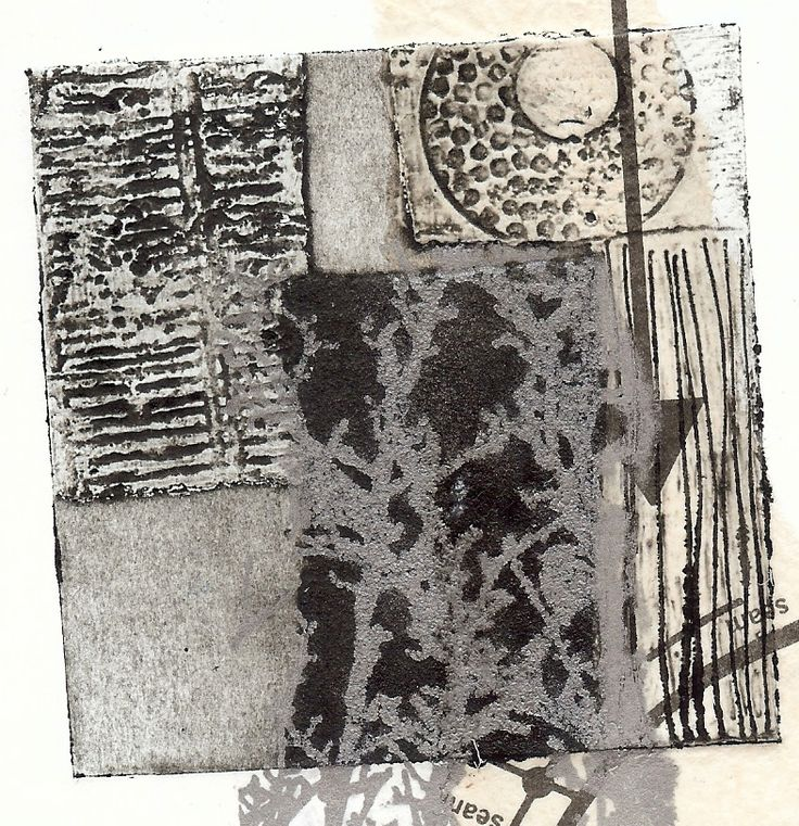 Sue Brown Printmaker: COLLAGRAPH TRAILS -  combine collagraph prints with gum arabic transfers in gold and silver ink.