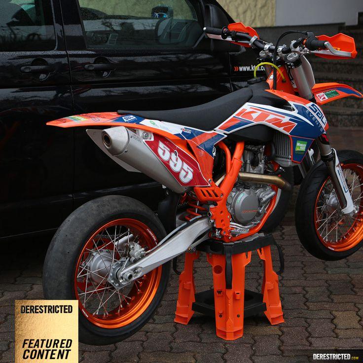 KTM 450 SM-R Supermoto – Bernhard Salhofer « Featured « DERESTRICTED