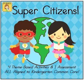 Kindergarten Citizenship Worksheets
