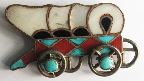 Vintage india Zuni Con Incrustaciones De Turquesa Ónice Coral Carro cubierto Pin   Joyería y relojes, Étnicos, regionales y tribales, Indígena de EE. UU.   eBay!