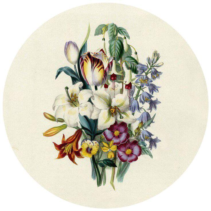 Открытки 19 века с цветами, лет девочке