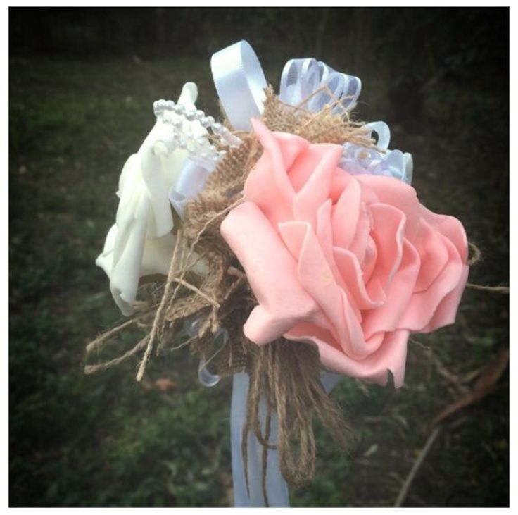 Garden aisle sticks made to order in the colour of your choice