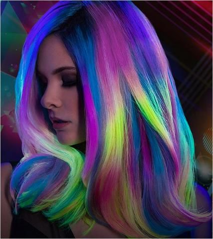 neon hair styles 5473 best to dye for images on hairstyles 7421