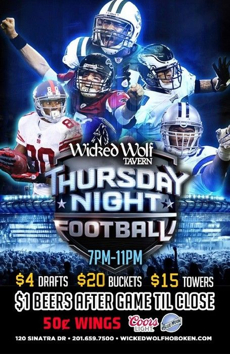 2015 NFL Kickoff! Thursday Night Football- Game 1! The best season of the year is finally here.... FOOTBALL!! We're going even bigger this year! September 10, 2015