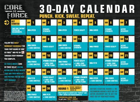 The 25+ best Core de force calendar ideas on Pinterest Core de - sample workout calendar