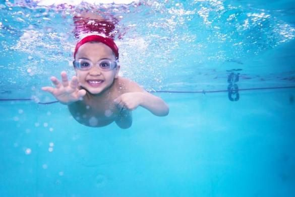 """Babies a mere 3 months old are learning how to paddle themselves onto their backs, floating with their heads above water. Toddlers — fully clothed — are jumping into pools, learning to get accustomed to the heaviness they feel as their shoes, shirts, and jeans fill with water."" - Boston Globe #babyswimlessons #babies #swimming #floating"