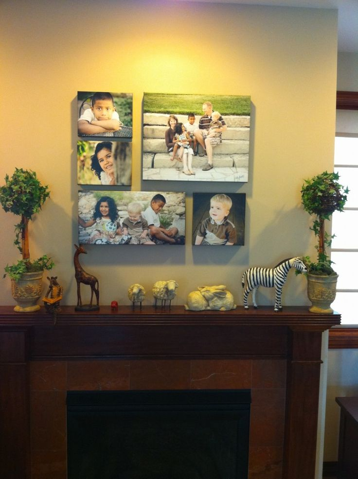 Love This Idea One Of Each Kid Then All Four Them And Me Canvas Picturesphoto Reportcollage