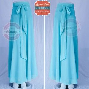 Askana skirt SB0103 - sea blue