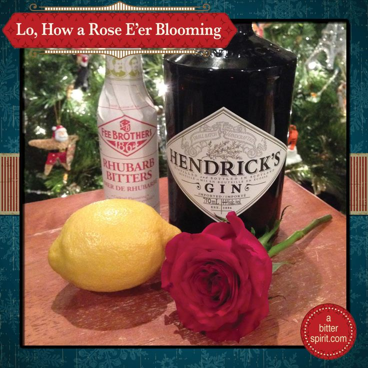 The song inspiration for today's cocktail is the German carol, Lo, How a Rose E'er Blooming. The text dates from around the late 16th century and was originally a carol about Mary, comparing her to the mystical rose of Sharon. There is also a source that states the true origin...