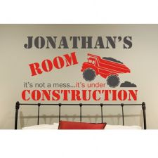 Construction Theme Room