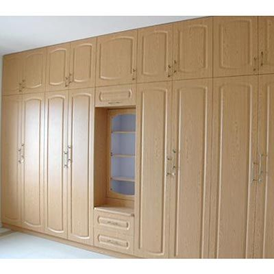 Super stylish #wardrobes in neutral hues  See more: http://modular-kitchens.com/wardrobes.html  #WardrobesBangalore #HomeInteriors