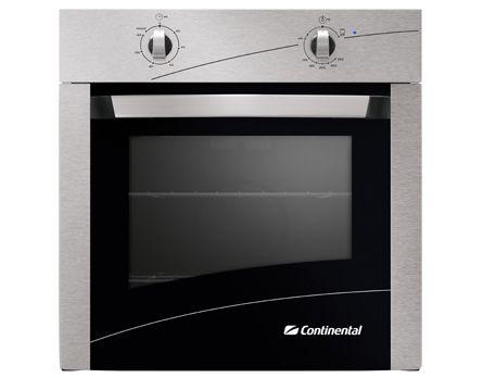 O forno de embutir a g�s Continental FOGCT060E1B2IN