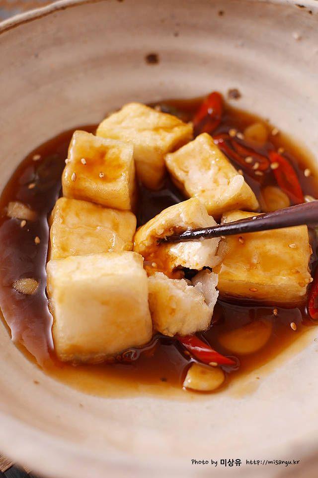 [두부탕수만들기]고추 마늘 두부 탕수 만드는법 by 미상유 – 레시피 | Daum 요리