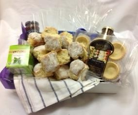 Scones and Jam with your Tea.