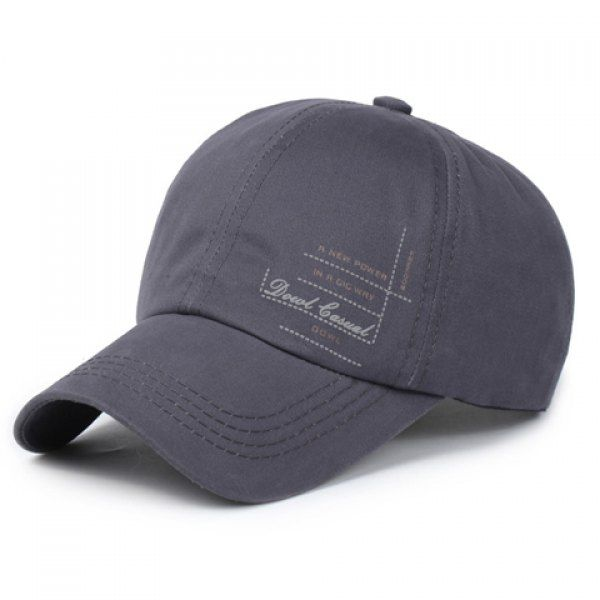6.01$  Watch here - http://dilln.justgood.pw/go.php?t=179091403 - Stylish Letters and Dashed Line Pattern Men's Sport Baseball Cap 6.01$