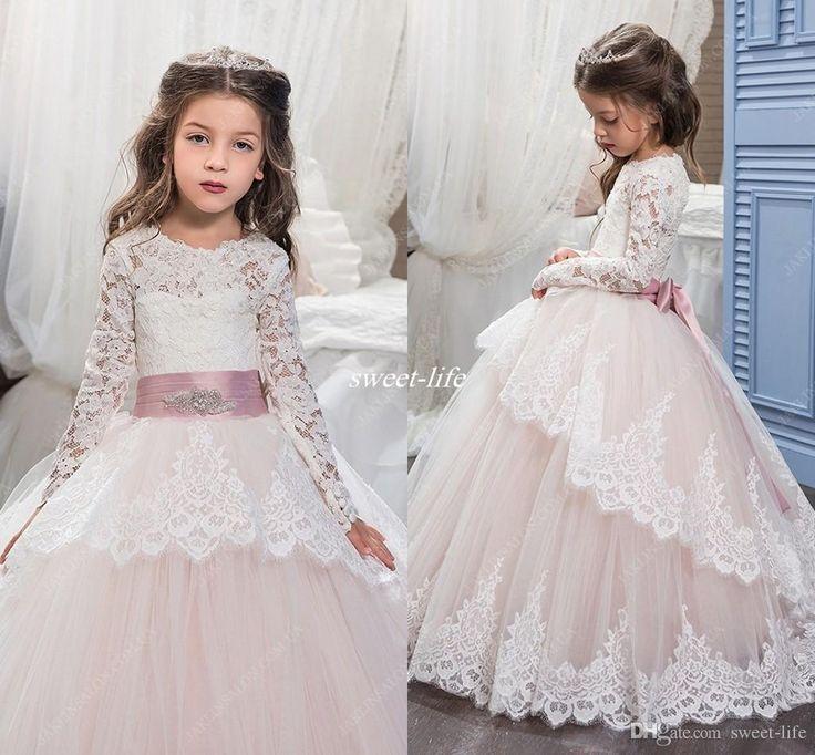 Winter Flower Girl Dress
