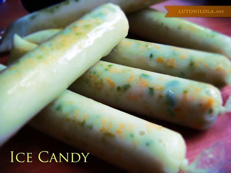 Avocado ice candy!