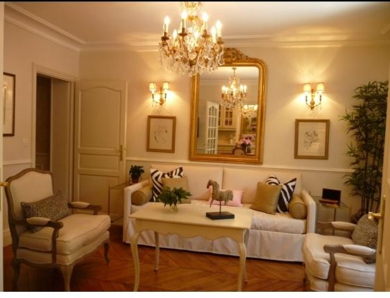 Nightime At Beaumes De Venise Huff Harrington S Paris Apartment Our Favorite Paris Apartment