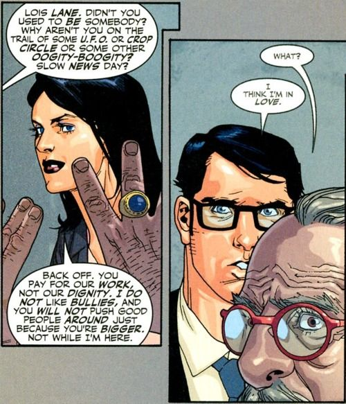 Superman and Lois Lane - why she matters