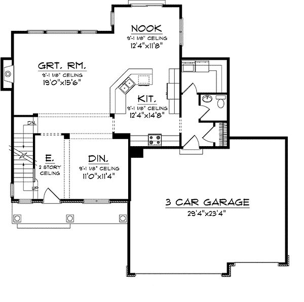 mcintosh traditional home plan 051d 0698 house plans and more - Mcintosh House Plans