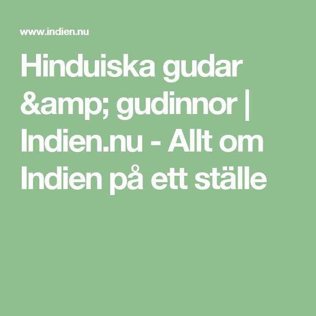 Hinduiska gudar & gudinnor | Indien.nu - Allt om Indien på ett ställe
