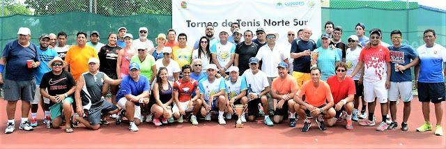Política y Sociedad: Torneo de tenis norte-sur en el Club Campestre